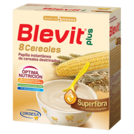 BLEVIT PLUS 8 CEREALES SUPERFIBRA 600 G.