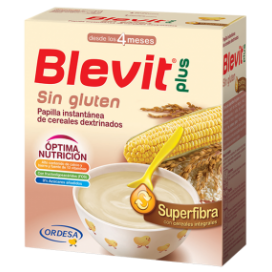BLEVIT PLUS SUPERFIBRA SIN GLUTEN 600 G.