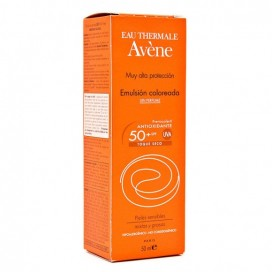 AVENE EMULSION COLOREADA SPF 50+ TOQUE SECO 50 ML