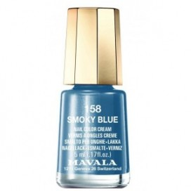 MAVALA PINTA UÑAS Nº158 SMOKY BLUE 5 ML