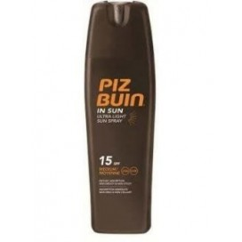 PIZ BUIN ULTRA LIGHT HIDRATANTE SPRAY SPF 15 200 ML